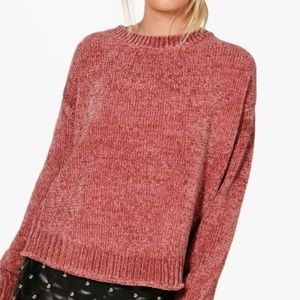 Aerie Rose Chenille Sweater